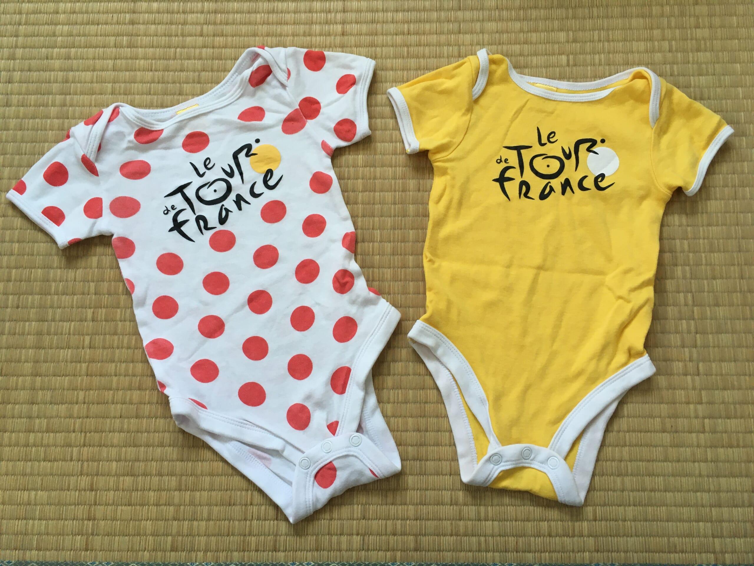 赤ちゃん用肌着 新生児肌着 ツール・ド・フランス