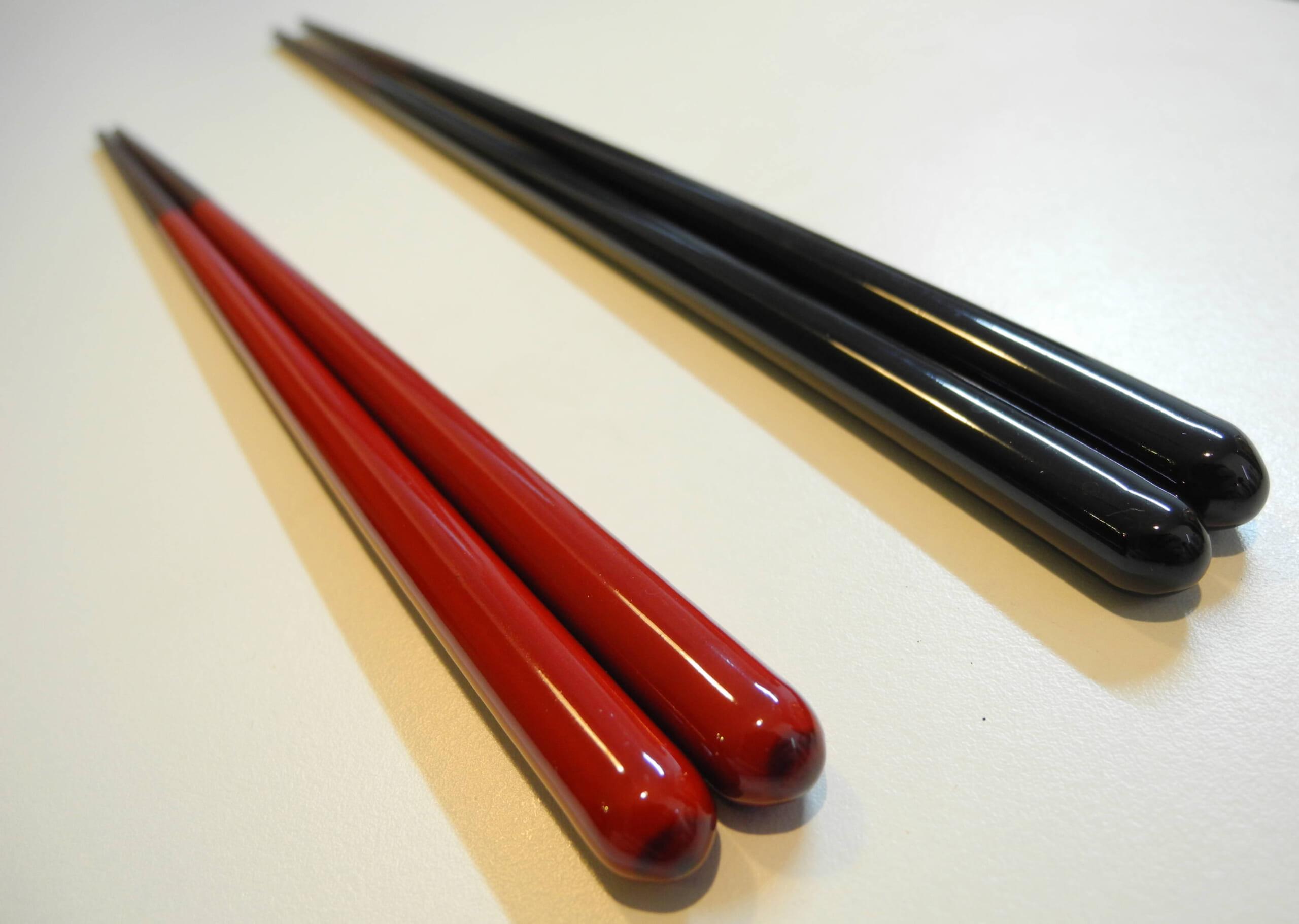 食洗機対応の漆のお箸